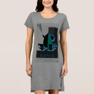 Vestido acolhedor do t-shirt feito para amantes do