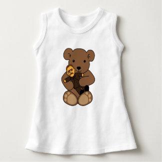 Vestido Amor do ursinho
