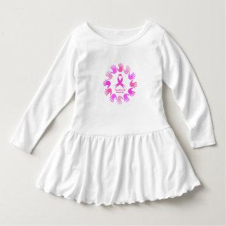 Vestido Apoio da consciência do cancro da mama