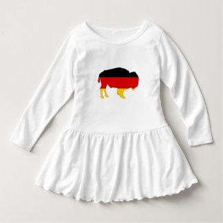 Vestido Bandeira alemão - bisonte