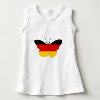 Vestido Bandeira alemão - borboleta
