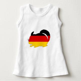 Vestido Bandeira alemão - chinchila