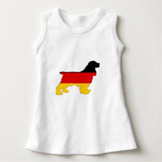 Vestido Bandeira alemão - cocker spaniel