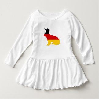 Vestido Bandeira alemão - coelho