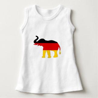 Vestido Bandeira alemão - elefante