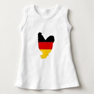 Vestido Bandeira alemão - galo