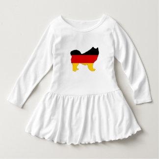 Vestido Bandeira alemão - Samoyed