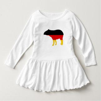 Vestido Bandeira alemão - Tapir