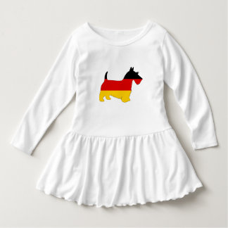 Vestido Bandeira alemão - terrier escocês