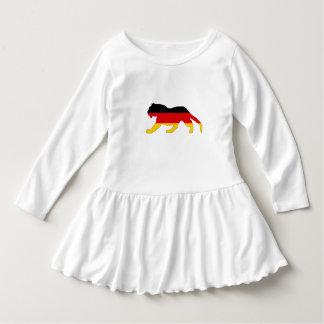 Vestido Bandeira alemão - tigre