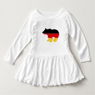 Vestido Bandeira alemão - urso Cub