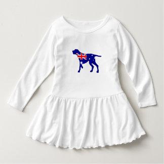 Vestido Bandeira australiana - Coonhound de Redbone