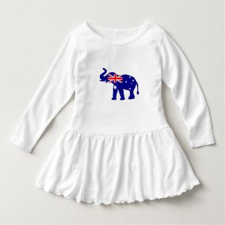 Vestido Bandeira australiana - elefante