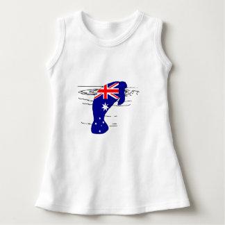 Vestido Bandeira australiana - peixe-boi