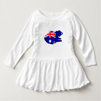 Vestido Bandeira australiana - sapo