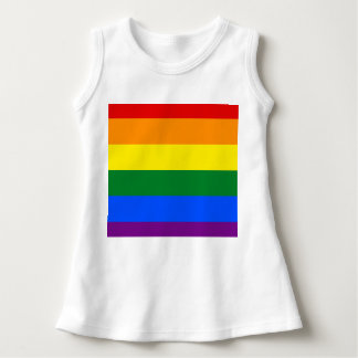 Vestido Bandeira do arco-íris