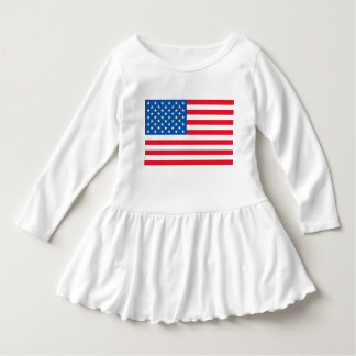 Vestido Bandeira dos Estados Unidos da bandeira dos EUA
