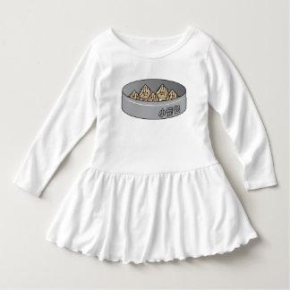 Vestido Bolo chinês de Dim Sum da bolinha de massa da sopa