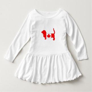 Vestido Canadá Basset Hound