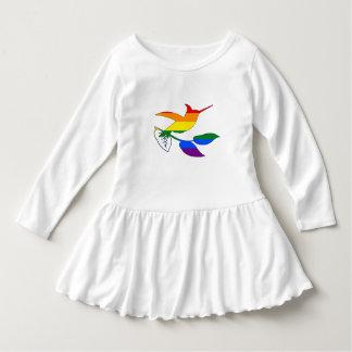 Vestido Colibri do arco-íris