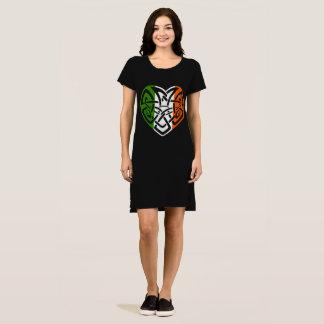 Vestido Coração celta irlandês Ireland Croí Acushla do nó