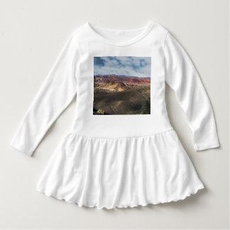 Vestido Cratera o Vale da Morte de Ubehebe