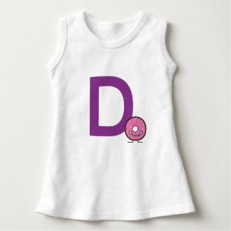 Vestido D é para a crosta de gelo do rosa da sobremesa da
