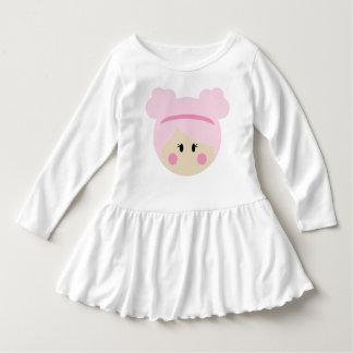 Vestido da criança - coleção da boneca de Bebe