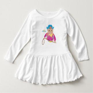 Vestido da criança da vaqueira (hispânico)