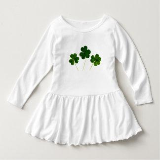 Vestido da criança do dia de quatro St Patrick do