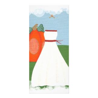 Vestido da princesa casamento, cartões feitos sob  modelos de panfletos informativos