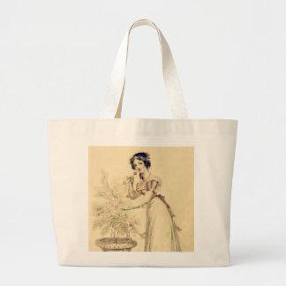 Vestido de bola da regência de Jane Austen Bolsas