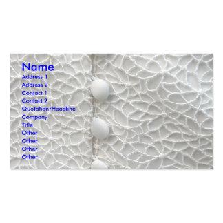 Vestido de casamento branco cartão de visita