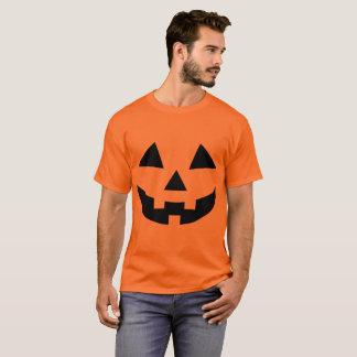 Vestido de fantasia do t-shirt da abóbora do Dia