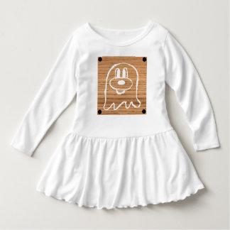 Vestido de madeira 1 do plissado da criança do 鬼鬼