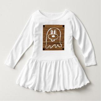 Vestido de madeira 2 do plissado da criança do 鬼鬼