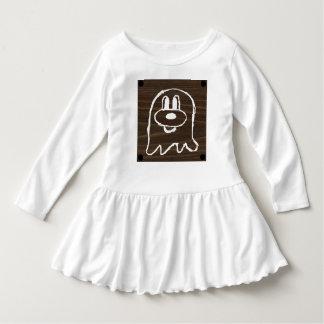 Vestido de madeira 3 do plissado da criança do 鬼鬼