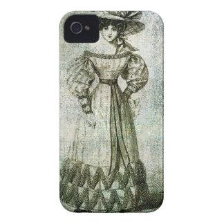 VESTIDO de PASSEIO 1826.jpg das SENHORAS ELEGANTES Capas Para iPhone 4 Case-Mate