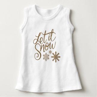Vestido Deixais lhe para nevar