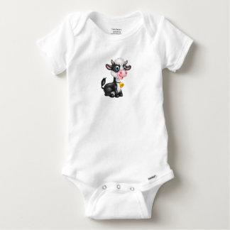 Vestido do algodão de Gerber do bebê