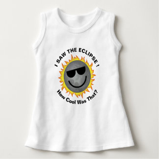 Vestido do eclipse da criança