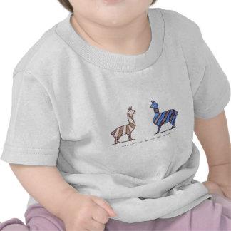 vestido do lama camisetas