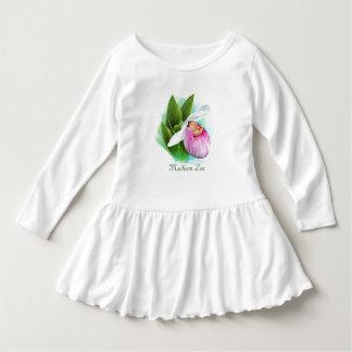 Vestido do plissado da criança