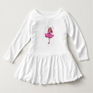 Vestido do plissado da criança do vestido de
