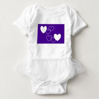 vestido do plissado do bebê pelo DAL