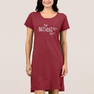 Vestido do t-shirt