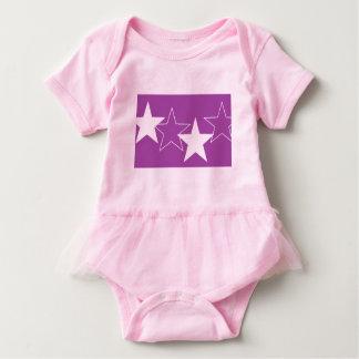 vestido do tutu do plissado do bebê pelo DAL