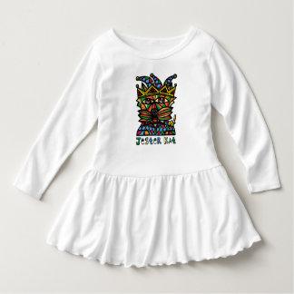 """Vestido Do """"vestido do plissado da criança do Kat bobo da"""