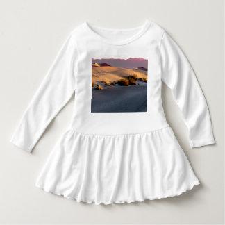 Vestido Dunas de areia lisas o Vale da Morte do Mesquite