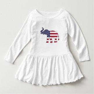 """Vestido Elefante """"bandeira americana """""""